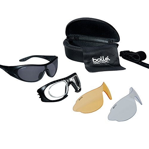 Bolle Tactical Unisex-Adult RAIDERKIT Raider Kit, Black, Universal