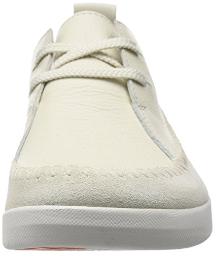 Clarks Tri Angel, Sneakers basses femme Blanc (Off White Combi)