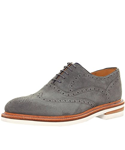 Oliver Sweeney Hommes chaussures de cuir bideford oxford Gris Gris