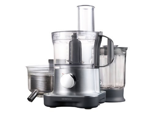Kenwood FPM 270 Kompakte Küchenmaschine (750 Watt) silber