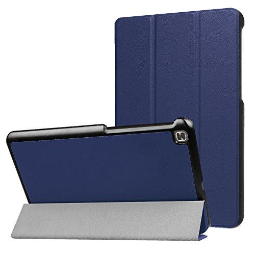 LG G Pad IV 8.0/G Pad X28.0FHD Fall, ratesell Slim Fit Haltbar Premium Leder Folio Schutzhülle für LG G Pad IV 8.0/V533(Kanada), GPAD X28.0Plus (T-Mobile) Tablet, Marineblau