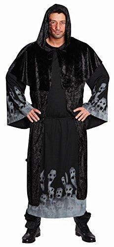 Mottoland Herren Kostüm Totenkopf Geister Dämon Seelenfresser Halloween ()