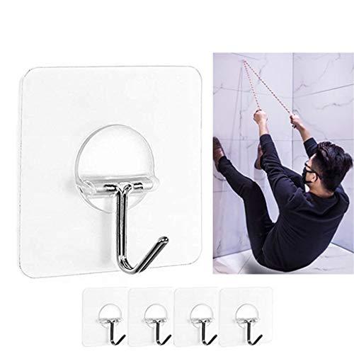 TianranRT Stark Durchsichtig Saug Tasse Sauger Wand Haken Aufhänger Für Küche Bad 4pc -