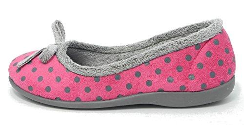 Per Pantofola Piselli Modello Forma Piuma Rosa Di A Memoria Di Gomma Spazzatrice Femminile gqFwRZw