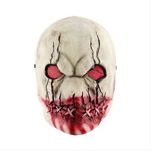 Latex Maske Schreckliche Maske Latex Maske Mit Hut Für Maskerade Halloween Kostüm Bar Realistische Festival Party Liefert B ()