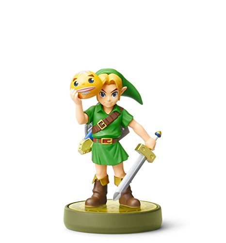 Majoras Mask Link Amiibo - TLOZ Collection (Nintendo Switch/3DS/Wii U)