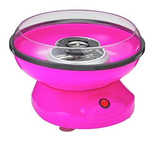 Candy Floss Maker Pinkishn Neon Pink/Weiß Baumwolle Candy Sweet Party Maschine