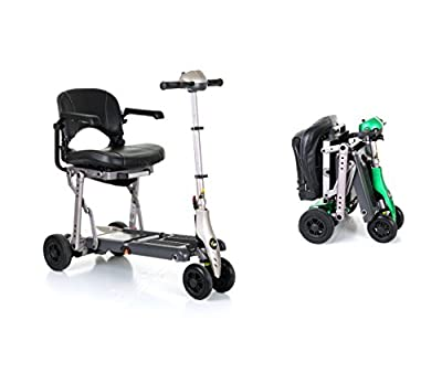 Van Os Medical Excel Yoga Foldable Compact Mobility Scooter with Carry Case