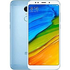 Xiaomi Redmi 5 Plus, Telefono Movil Dual SIm, 4 GB RAM, 64 GB ROM, Azul [Versión Global]