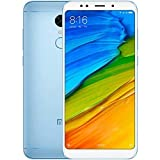 Xiaomi Redmi 5 Plus, Telefono Movil Dual SIm, 4 GB RAM, 64 GB ROM, Azul [Versión Global]