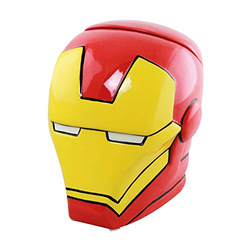 Marvel Iron Man tarro para galletas, color rojo/amarillo