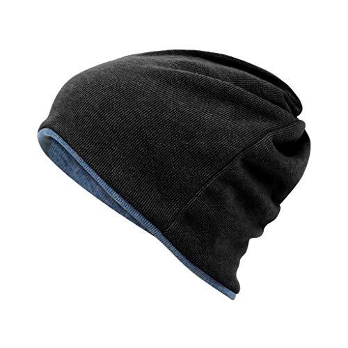 Nosterappou Einteiliger, dreifach verwendbarer Kragen, Hut, Maske, Multifunktionshut, winddicht und warm, geeignet für Aktivitäten im Innen- und Außenbereich, Schutz des Kopfes und der Ohren vor kalte (Kalten Kopf Maske)