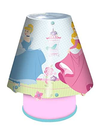 Disney Princess Fairy Dreams Children's Kool Lamp / Tamper Proof Bedside Light