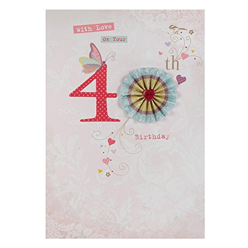 Hallmark 40th Birthday Card For Her Friendship