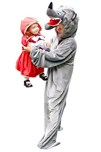 Im Wolf Schaf Kostüm - PUS Wolf- Kostüm-e F49 Gr. M-L, Kat. 2, Achtung: B-Ware Artikel. Bitte Artikelmerkmale lesen! Frau-en und Männer Tier-e Wölfe- Fasnacht-s Fasching-s Karneval-s Geburtstag-s Geschenk-e Weihnacht-s