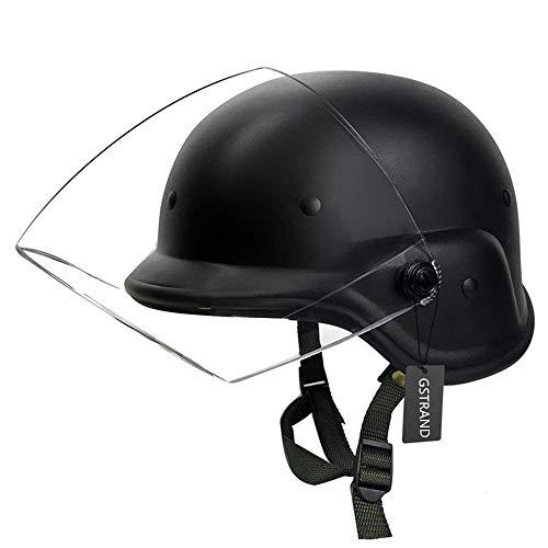GEE STRANDING Taktischer Helm M88 Transparenter Sonnenschutzhelm CS Paintball Outdoor Jagdausrüstung Persönliche Rüstung Schutz Fahrradhelm Leichter Taktischer Helm Outdoor Sportausrüstung
