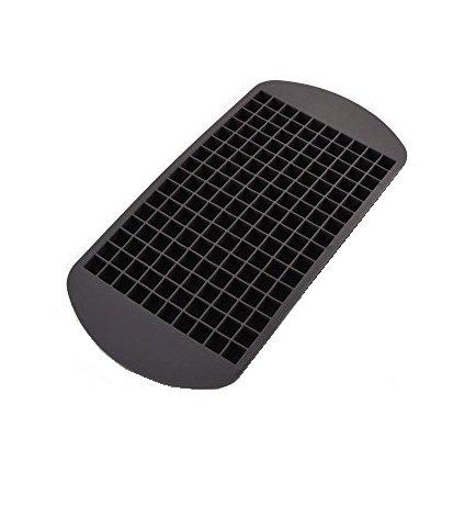 Eiswürfelform aus Silikon - für 160 Eiswürfel - Größe der Eiswürfel: 1x1 cm - riesige Eiswürfelform - Mega Eiswürfelpack