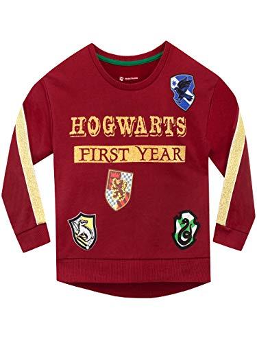 41%2BZILF%2BcaL - Harry Potter Sudadera para niñas Hogwarts Rojo 12-13 Años