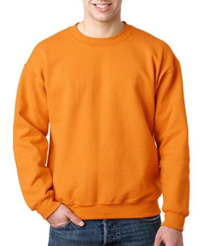 Gildan Heavy Blend Unisex-Erwachsene Crewneck Sweatshirt Gr. Medium, Tennessee Orange