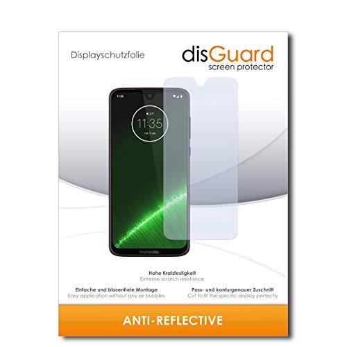 disGuard® Bildschirmschutzfolie [Anti-Reflex] kompatibel mit Motorola G7 Plus [2 Stück] Entspiegelnd, Matt, Antireflektierend, Extrem Kratzfest, Anti-Fingerabdruck - Panzerglas Folie, Schutzfolie