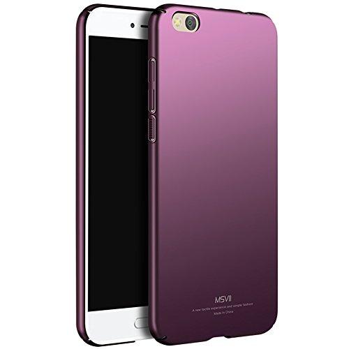 Coque Xiaomi Mi 5c, MSVII® Très Mince Coque Etui Housse Case et Protecteur écran Pour Xiaomi Mi 5c - Bleu JY00281 Violet