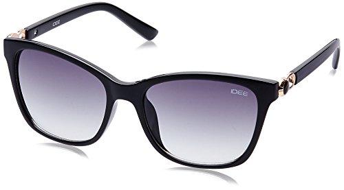 IDEE Gradient Square Women's Sunglasses - (IDS2083C1SG|55|Smoke Gradient lens) image