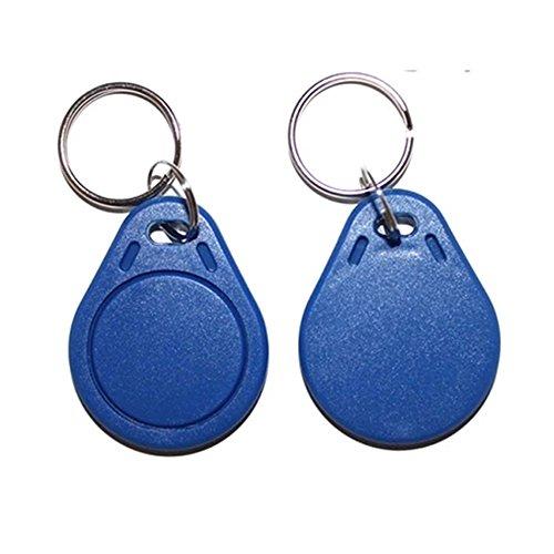 OBO HANDS Étiquettes d'IC d'UID 13.56MHz de Cloner Modifiable Porte-clés Intelligents Carte de Clés 1K S50 MF1 RFID Contrôle d'accès Bloc 0 Secteur Ecriture (20)
