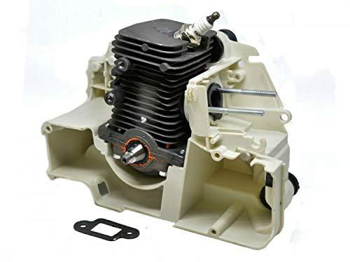 HS PARTS Motor für Motorsäge Stihl MS 170 017 Zylinder, Kolben, Kurbelwelle, Kurbelgehäuse