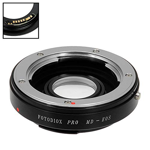 Fotodiox Pro Lens Mount Adapter Compatible with Minolta Rokkor (SR/MD/MC) SLR Lens to Canon EOS (EF, EF-S) Mount D/SLR Camera Body - with Gen10 Focus Confirmation Chip -