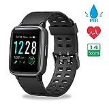 Smartwatch, Reloj Inteligente Impermeable IP68 Pulsera Actividad Hombre Mujer, Inteligente Reloj Deportivo...