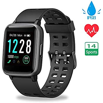 Willful Smartwatch con Pulsómetro,Impermeable IP68 Reloj ...