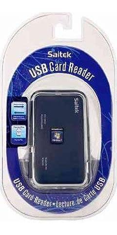 USB Card Reader - Saitek - Kartenlesegerät - Blau [Import