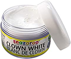 Snazaroo - Maquillage - Pot de 50 ml de Maquillage - Blanc de Clown