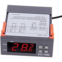 LESHP Digitale Termostato 200-240V Riscaldamento e Raffreddamento Regolatore di Temperatura per Il Frigorifero Acquario Pool Heater Controllo della Temperatura