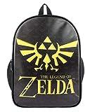 Cosstars The Legend of Zelda Gioco Stampa di Immagini Borsa da Scuola Studente Zaino Backpack Rucksack Zaini Sacchetto Nero 1