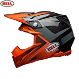 Bell Helmet Moto-9 Flex Hound, Orange/Charcoal, Größe M