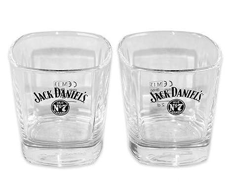 Jack Daniel's Whiskeyglas Set Old No. 7 New Whiskeygläsern ohne Geschenkbox
