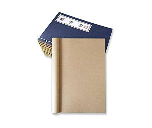 hosaire-1-stuck-notizbuch-vintage-zeichenbuch-tagebuch-unliniert-traditionelle-fadenbindung-schones-