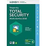 Kaspersky total security 2016 multidevice 1 user 1 yaer (incluso safe kids) (1000022175)