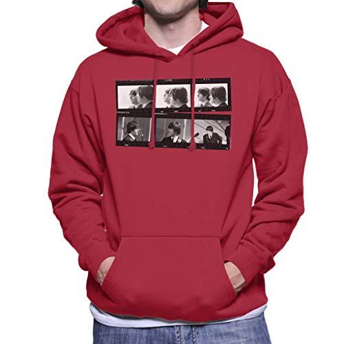 TV Times Beatles Lennon McCartney Show Photo Strip Men's Hooded Sweatshirt
