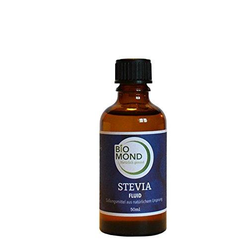 STEVIA Fluid SALZHÄUS`L, 50 ml/flüssiges Stevia Extrakt/natürliches Süßungsmittel/Premiumqualität/Zuckerersatz