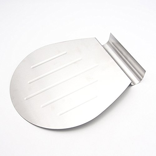Asentechuk® en acier inoxydable gâteau partie gâteau Pelle à pizza transfert Plateau à pâtisserie Grattoir gâteau Lifter Outil de cuisson