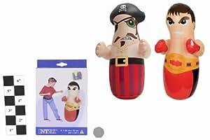"Intex Inflatable Pirate or Boxer Bop Punchbag 36""x26"""