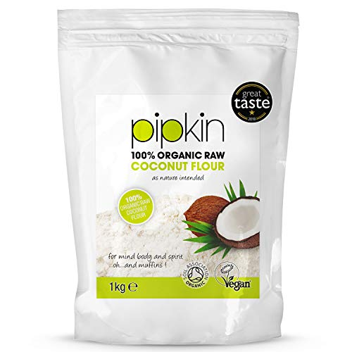 Pipkin Farine de noix de coco 100 % biologique alternative riche en fibres 1kg