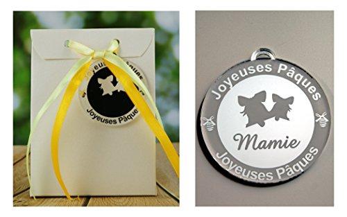 Boite de Chocolat garnie – Joyeuses Pâques Mamie (Cadeau pour Pâques) – Mod. Cloche