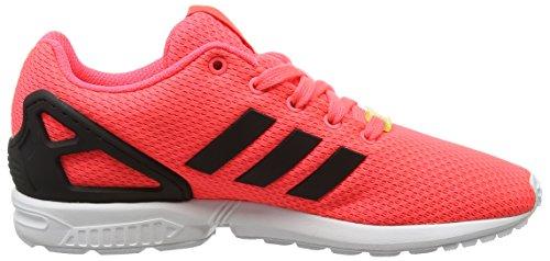 Adidas Zx Flux, Scarpe Bas-unisexe-bambini Rosa (flared / Cblack / Ftwwht)