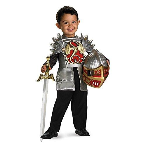 Knight of the Dragon Kinder Jungen Drachen Ritter Fasching Halloween Karneval Kostüm 92 (Dragon Kostüme Knight)