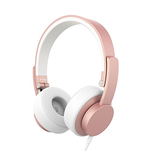 Urbanista Seattle - Auriculares con Cable, Color Oro Rosa