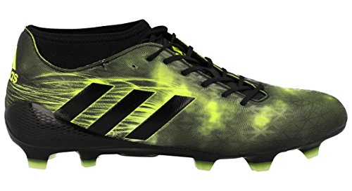 adidas Adizero Malice Fg, Scarpe da Rugby Uomo Nero (Negbas/Negbas/Amasol)