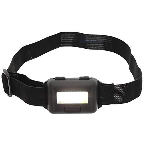 Kopflampe Stirnlampe mit COB-LEDs und verstellbarem Stirnband